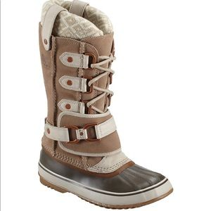 SOREL Joan of Arctic Knit Snow Boot